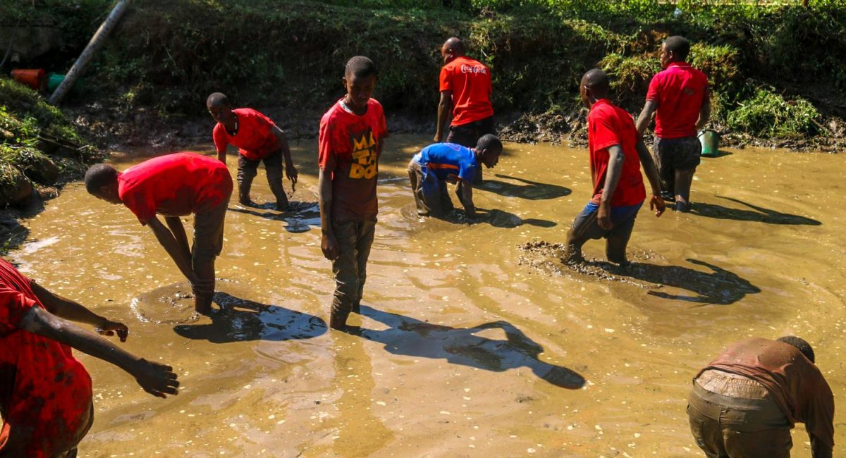 fish farming at St Kizito High School